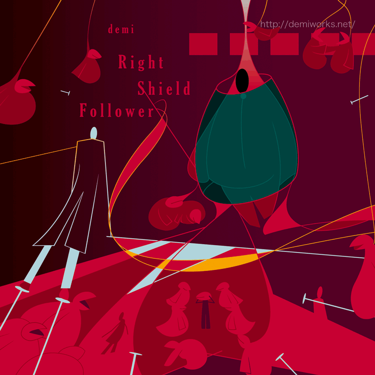 Right Shield FollowerCDジャケット
